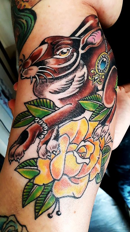 tattoo hase